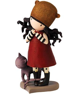 Santoro Gorjuss Purrrrrfect Love Figurine
