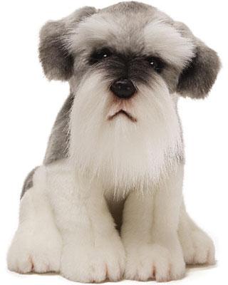 Gund Scrapy Schnauzer Dog