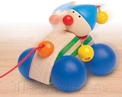 Selecta Autolino Pull Along Toy