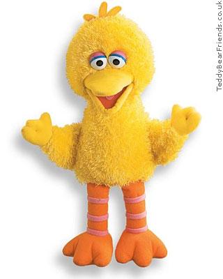 Gund Sesame Street Big Bird Full Puppet