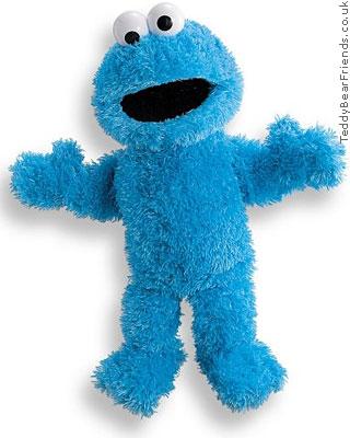 Gund Sesame Street Cookie Monster Full Puppet
