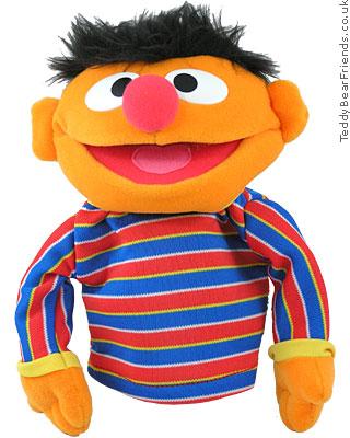 Gund Sesame Street Ernie Puppet