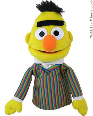 Gund Sesame Street Puppet Bert