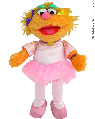 Gund Zoe Ballerina Sesame Street