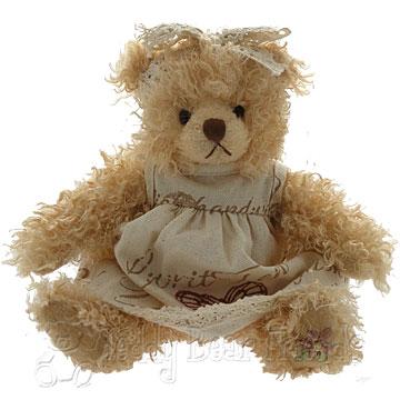 Settler Bears Girls Teddy Bear Autumn