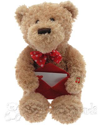 Gund Singing Valentines Bear