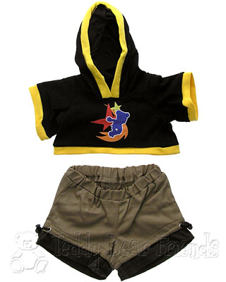 Teddy Bear Clothes Shop Skate Boarder Outfit For Teddy Bear