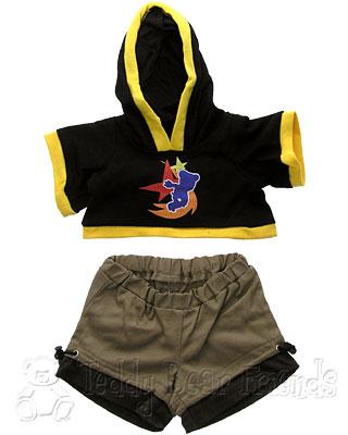 Teddy Bear Clothes Shop Skate Boarder Outfit For Teddy Bear