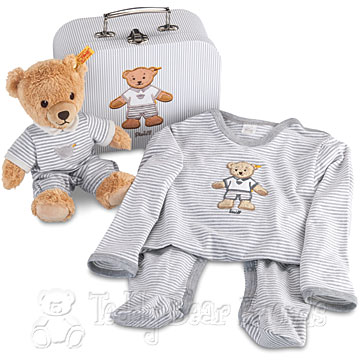 Steiff Baby Sleep Well Bear Gift Set Case