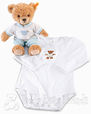 Steiff Baby Sleep Well Bear Gift Set For Boys