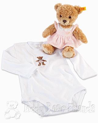 Steiff Baby Sleep Well Bear Gift Set For Girls