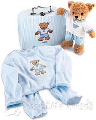 Steiff Baby Sleep Well Bear Gift Set