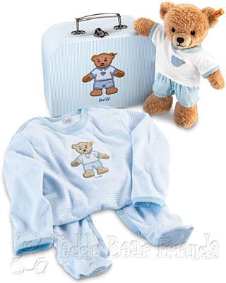 Steiff Baby Sleep Well Bear Gift Set