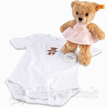 Steiff Baby Sleep Well Bear Music Box Gift Set