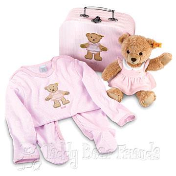 Steiff Baby Sleep Well Teddy Bear Gift Set