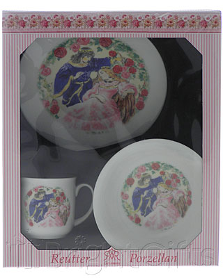 Reutter Porcelain Sleeping Beauty Nursery Set