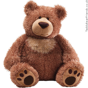 Gund Slumbers Brown Bear