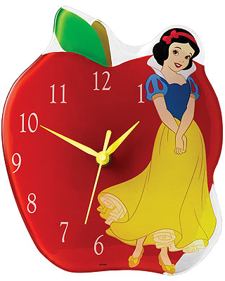 Disney Enchanting Collection Snow White Clock
