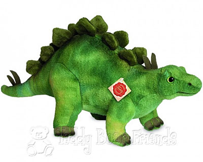 Teddy Hermann Stegosaurus Dinosaur Soft Toy