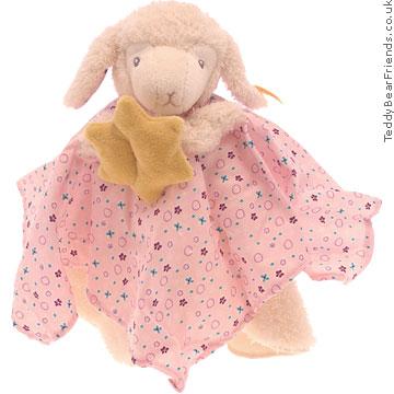 Steiff Baby Girl Lamb Comforter