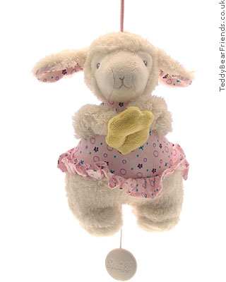 Steiff Baby Girl Lamb Musical