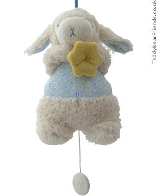 Steiff Baby Lamb Musical
