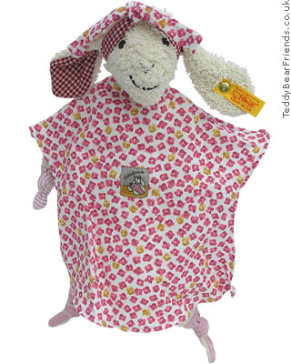 Steiff Baby Pink Lamb Comforter