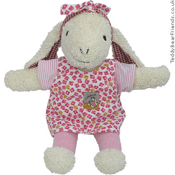 Steiff Baby Pink Lamb Soft Toy