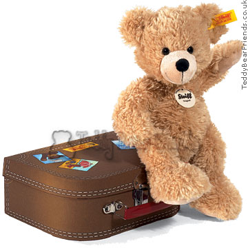 Steiff Bear in Suitcase