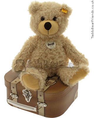 Steiff Charly Bear in Suitcase