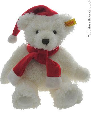 Steiff Santa Teddy Bear