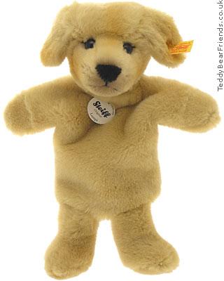 Steiff Puppy Puppet