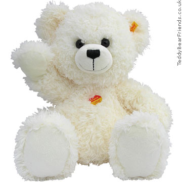 White Teddy Bear on Lizzy Fluffy White Bear   Steiff   Teddy Bear Friends