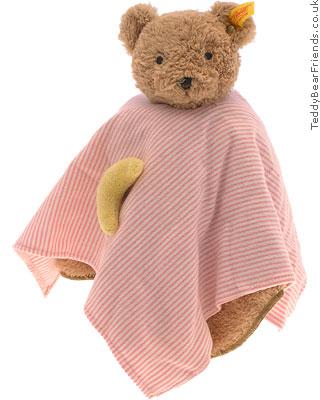 Steiff Baby Girls Moon Bear Comforter
