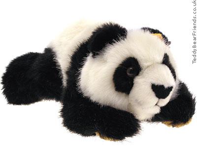 Steiff Lying Panda Bear