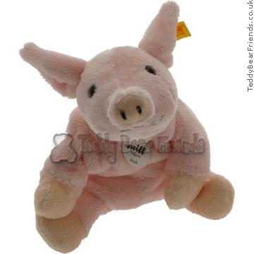Steiff Sissi Pink Pig Beanie