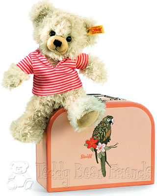 Steiff Suitcase Teddy Bear Pia