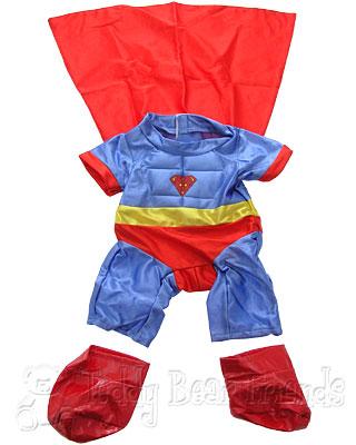 Teddy Bear Clothes Shop Superman Outfit For A Teddy Bear