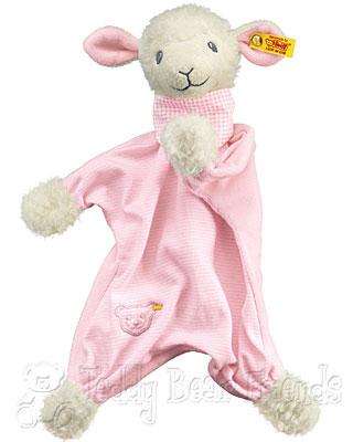Steiff Baby Sweet Dreams Baby Lamb Comforter