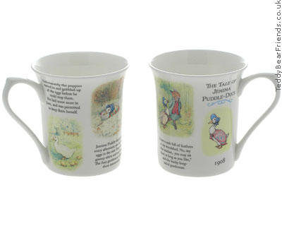 Churchill Tale of Jemima Puddleduck Mugs