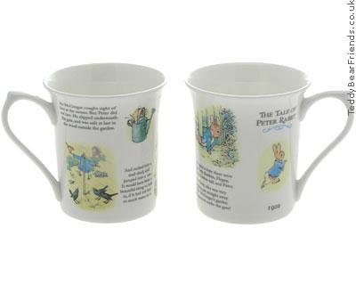 Churchill Tale of Peter Rabbit Mugs