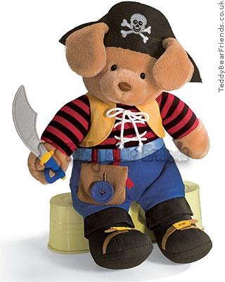 Baby Gund Teach Me Pirate Bear