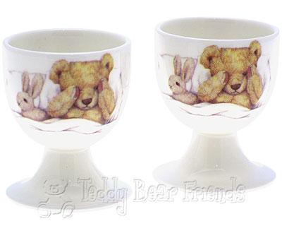 Roy Kirkham Teddy Bear Egg Cups
