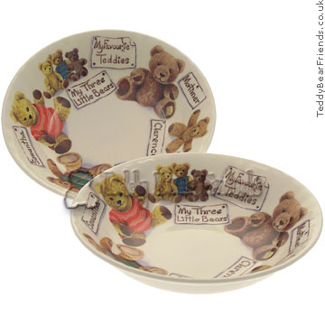 Roy Kirkham Teddy Bear Breakfast Bowl