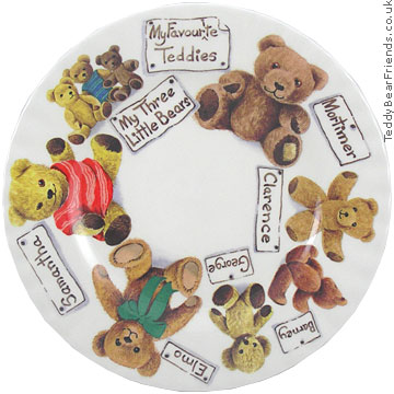 Roy Kirkham My Favourite Teddy Plate