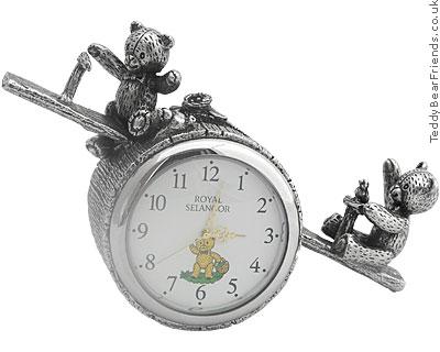Royal Selangor Teddy Bear Clock