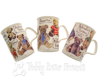 Roy Kirkham Teddy Bear Coffee Mugs