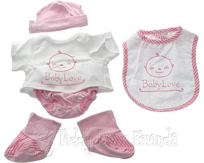 Teddy Bear Clothes Shop Baby Girl Outfit For Teddy Bears