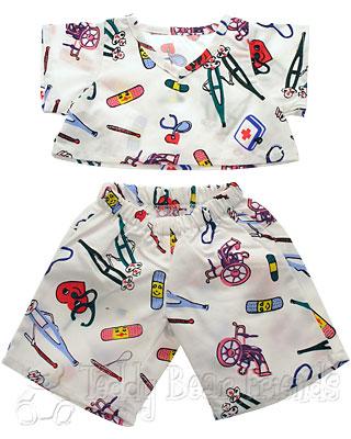 Teddy Bear Clothes Shop Teddy Bear Get Well Pyjamas