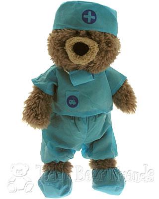 Teddy Bear Friends Exclusive Teddy Bear In Scrubs
